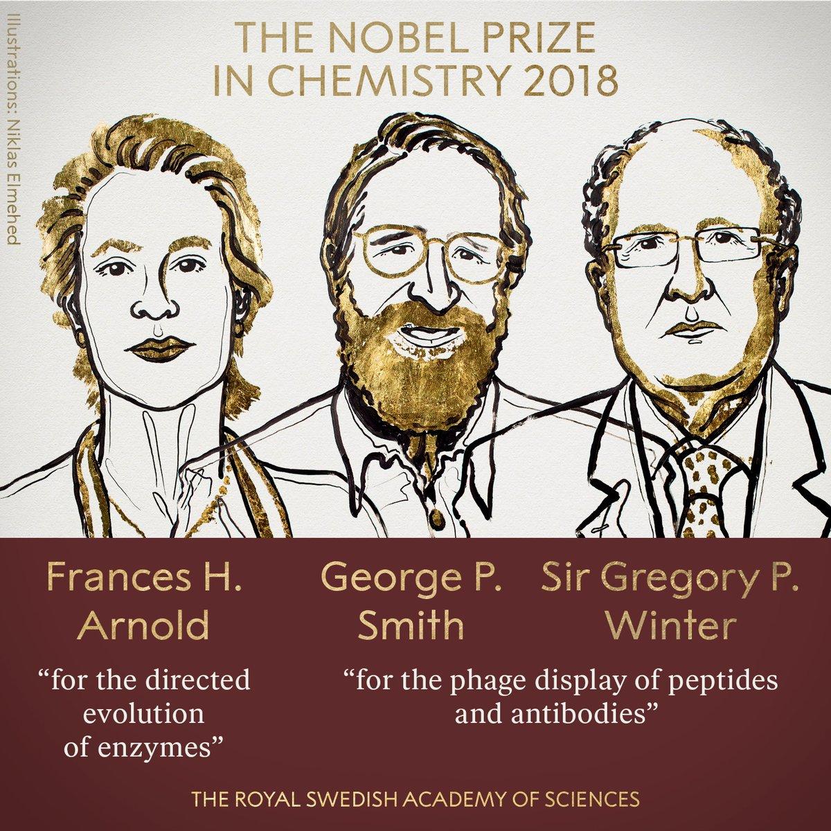 Нобелевская премия по химии. Медицинские новости, здоровье. МедЭксперт