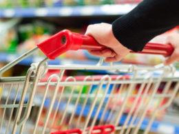 Корзина в супермаркете